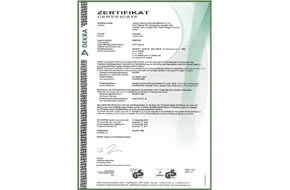 GS certificate for pipe heating cable
